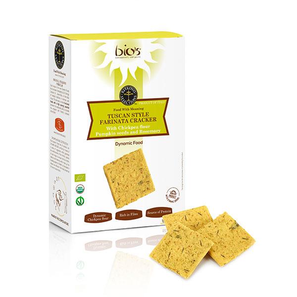 Farinata-Crackers